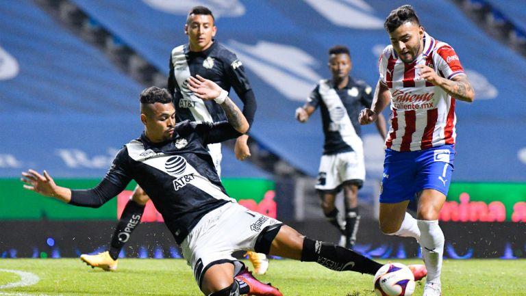 Chivas: Dejó ir dos puntos al empatar con Puebla