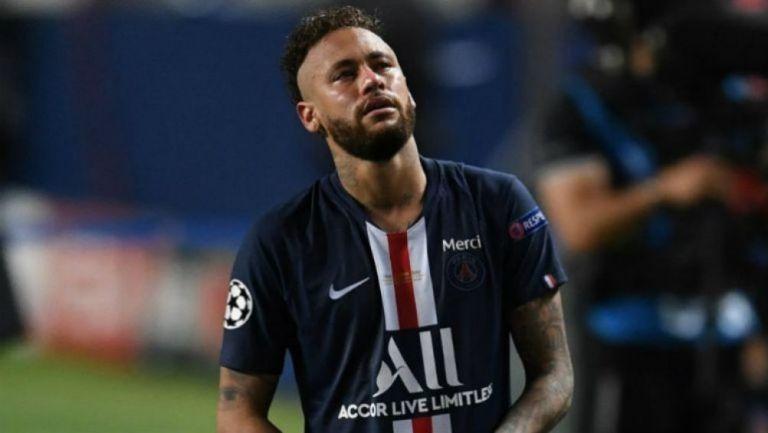 Neymar en lamento con el PSG