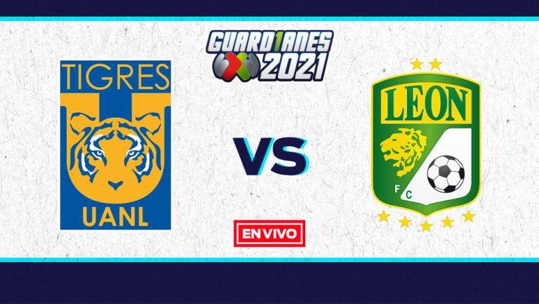 EN VIVO Y EN DIRECTO: Tigres vs León Guardianes 2021 Jornada 1
