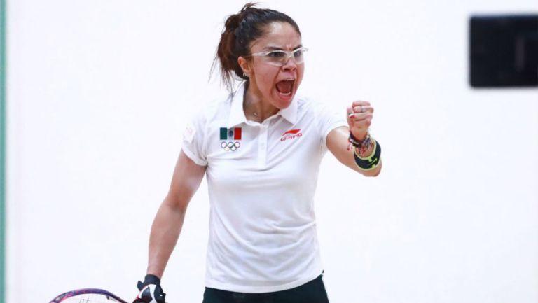 La raquetbolista mexicana, Paola Longoria