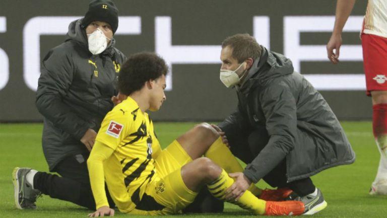Axel Witsel en lamento con el Borussia Dortmund
