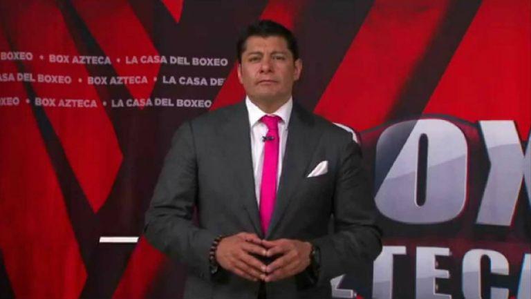 El Zar Aguilar en presentación