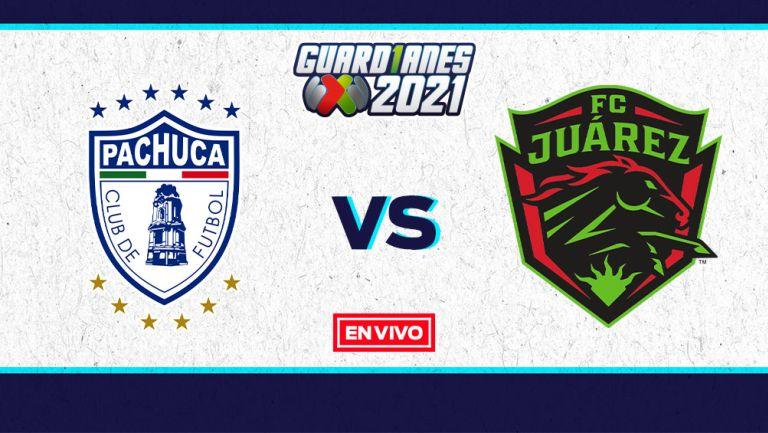 EN VIVO Y EN DIRECTO: Pachuca vs Juárez