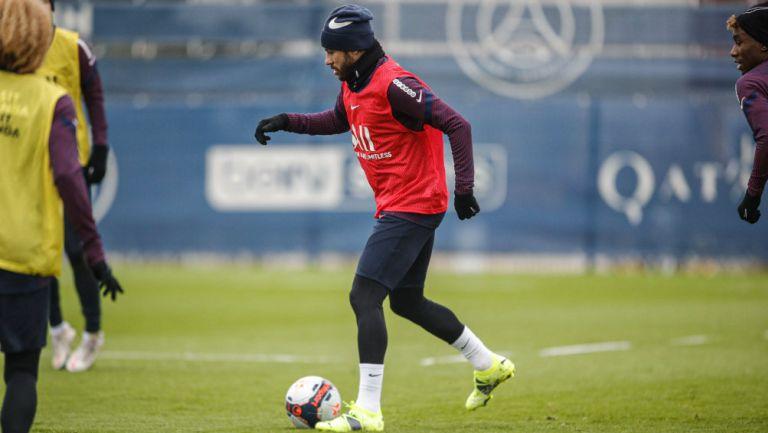 París Saint-Germain: Neymar volvió a los entrenamientos del club francés