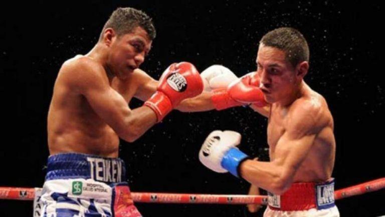 Román González y Juan Francisco Estrada intercambian golpes