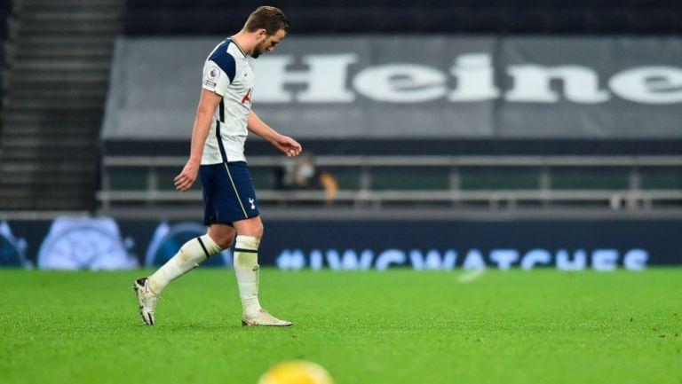 Harry Kane en lamento con Tottenham