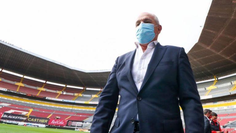 Javier Aguirre entrenador de Rayados