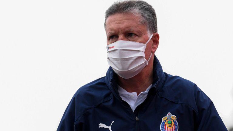 Ricardo Peláez previo a un duelo de Chivas