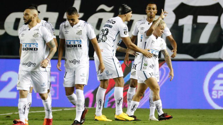 Soteldo festeja su golazo ante Boca Juniors