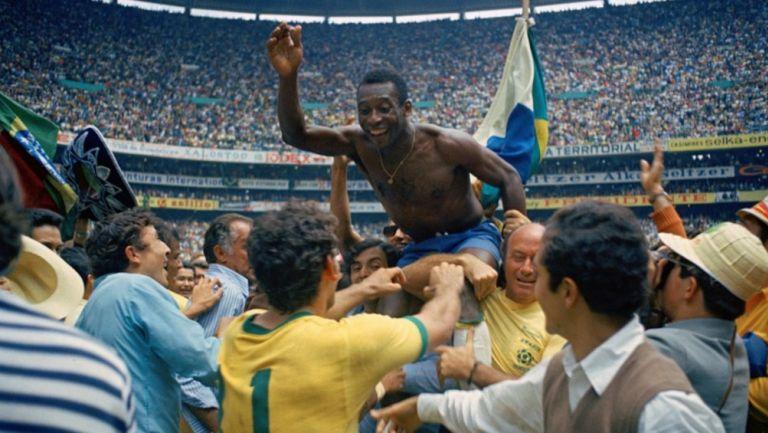 Pelé, tras ganar el Mundial de México 1970