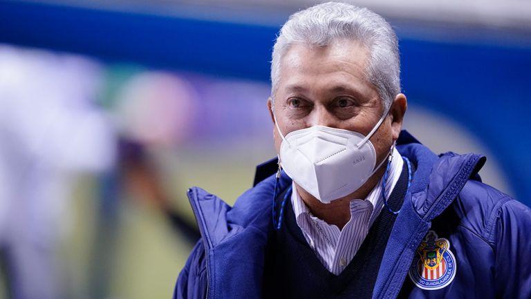 Vucetich, en un partido con Chivas