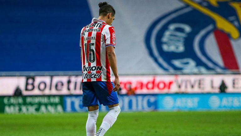 Uriel Antuna tras una falla con Chivas