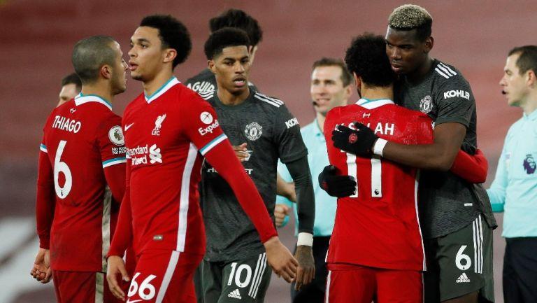 Manchester United: Empató con Liverpool y se mantiene como líder de la Premier League