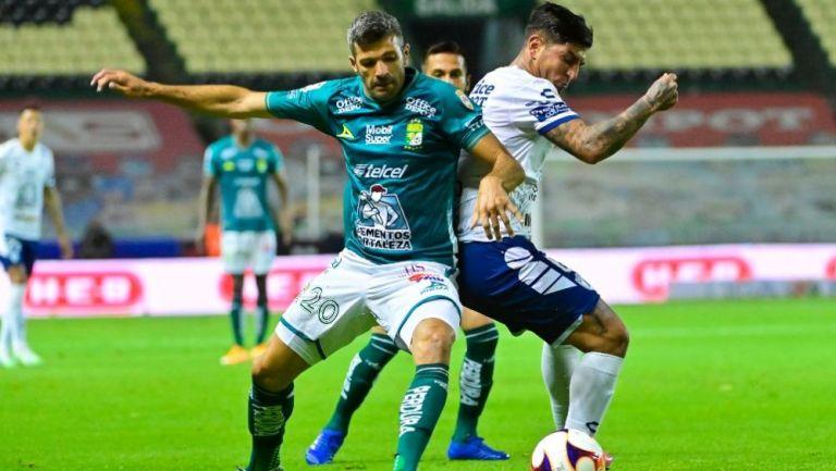 Actividad en el León 0-0 Pachuca