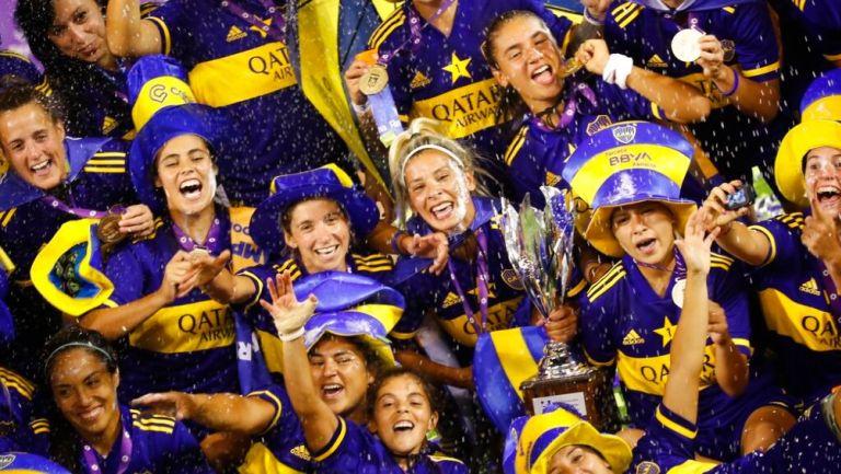 Boca Juniors: Venció a River Plate y se proclamó primer Campeón profesional Femenil de Argentina