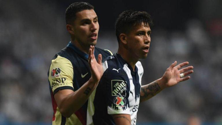 Jorge Sanchez y Maximiliano Meza en acción