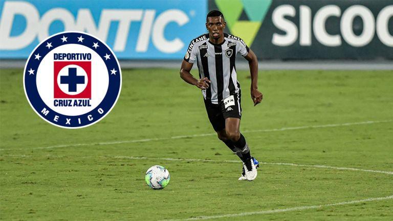 Kanu en partido con Botafogo