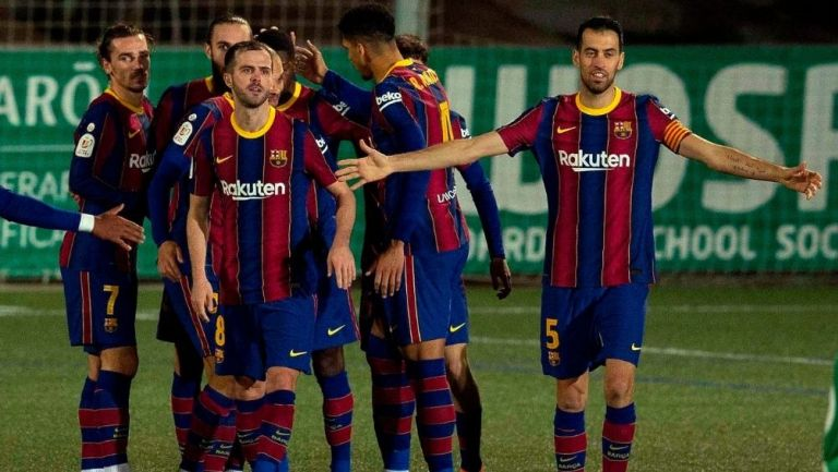 Barcelona sufrió para vencer al Cornellá