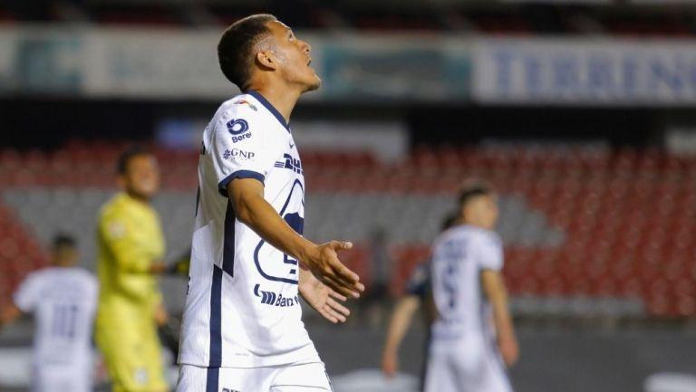 Jacob Morales debutó vs Querétaro