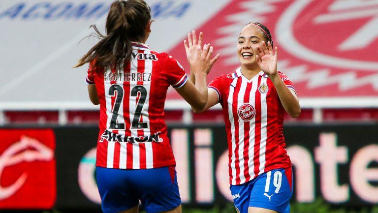 Vázquez celebra su gol ante Santos