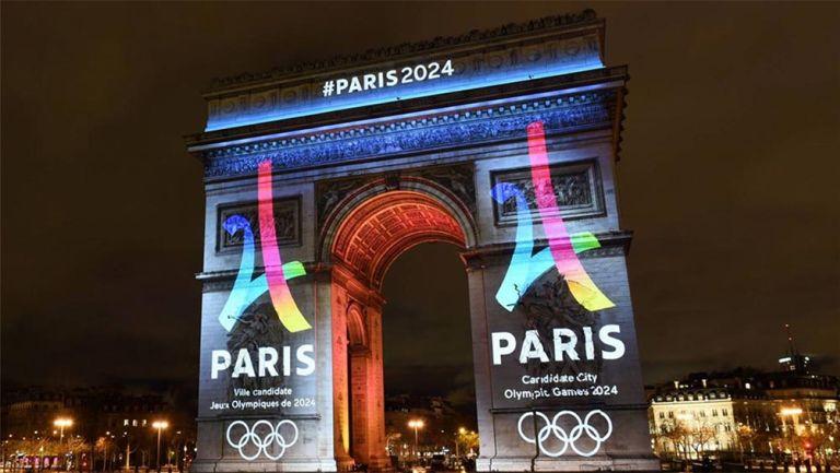 La celebración en París tras la elección de la sede de 2024