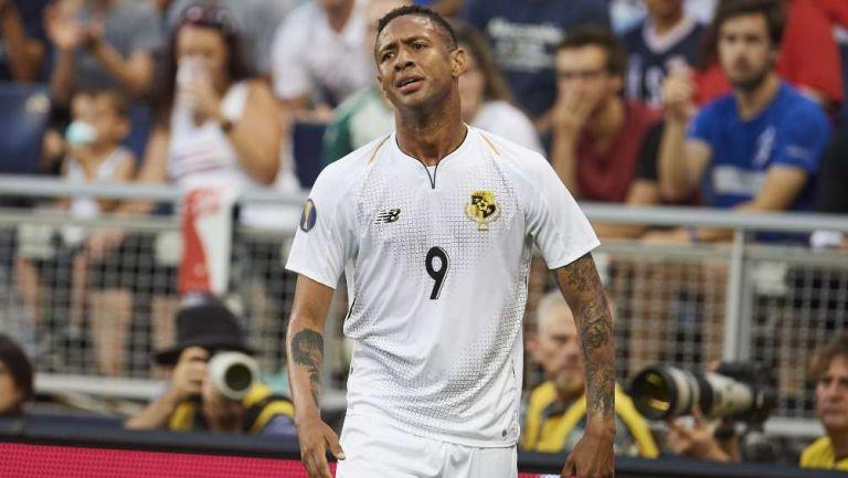 Gabriel Torres en lamento con la selección de Panamá
