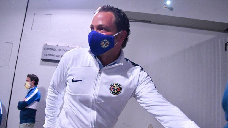 Santiago Baños, director deportivo del América