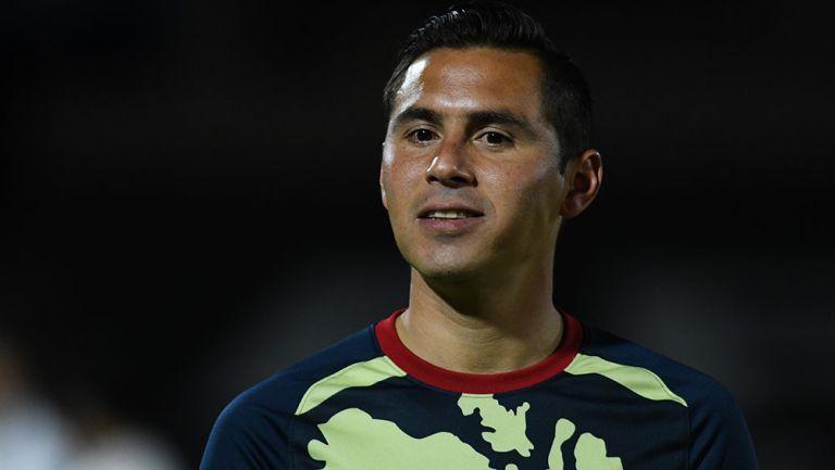 Paul Aguilar, previo a un juego del América