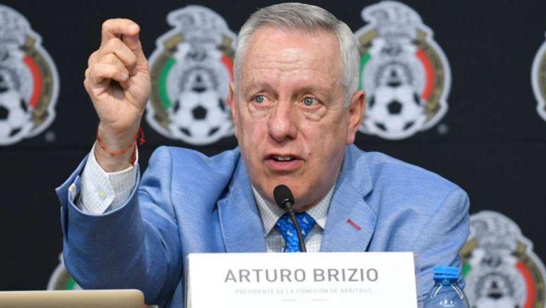 El presidente de la Comisión de Arbitraje, Arturo Brizio