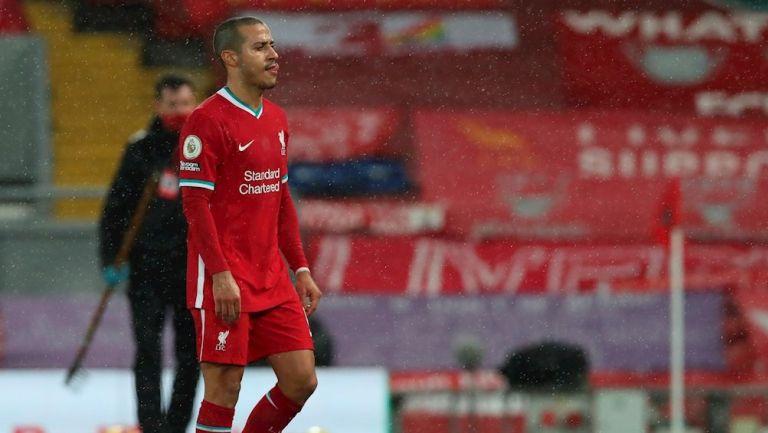 Thiago tras derrota ante el Brighton