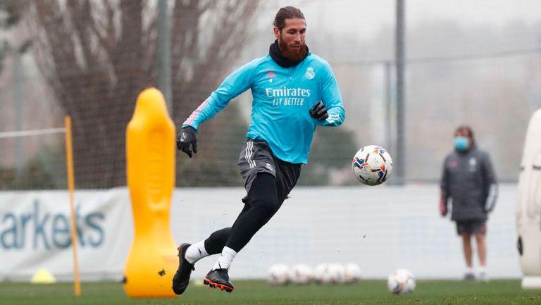 Real Madrid: Sergio Ramos volvió a los entrenamientos