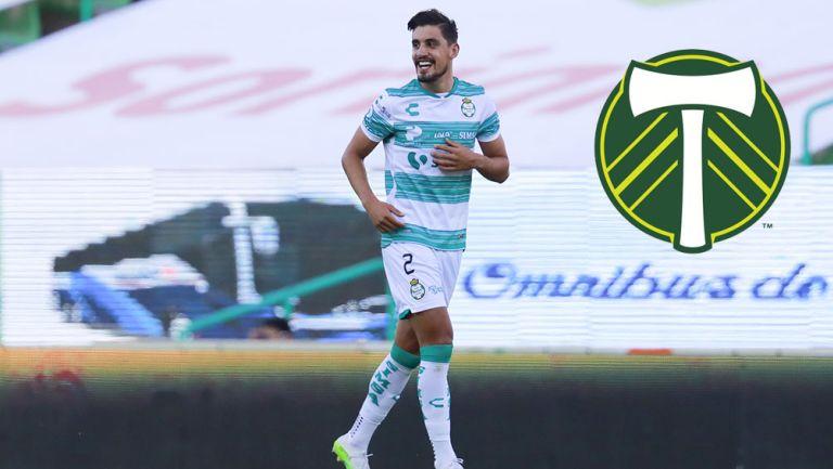 Josecarlos Van Rankin  en partido con Santos