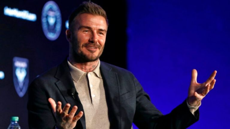 David Beckham, exjugador del Real Madrid