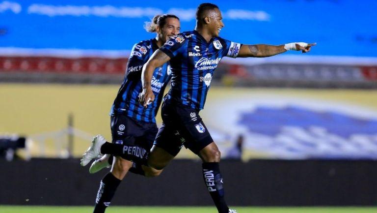 Antonio Valencia se estrenó como goleador en la Liga MX