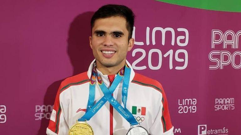 Iván García en juegos de Lima