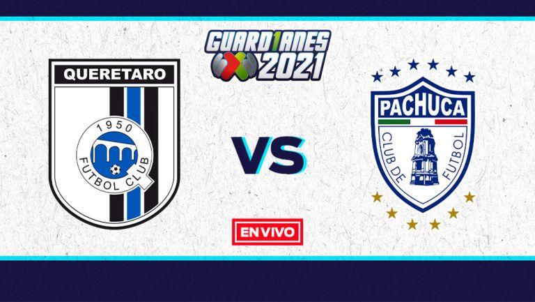 EN VIVO Y EN DIRECTO: Querétaro vs Pachuca