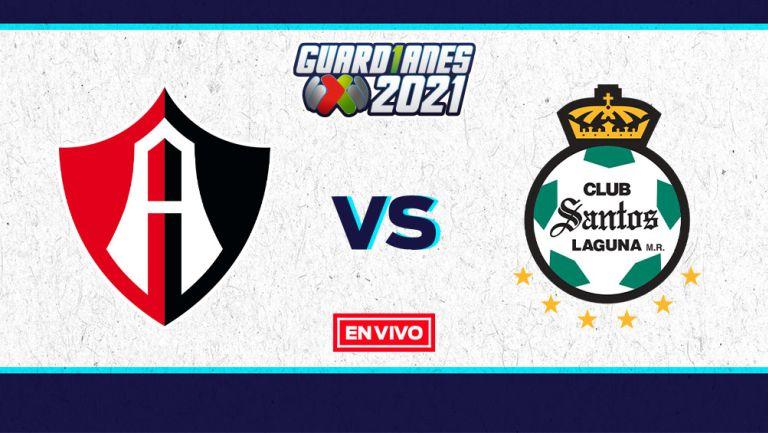 EN VIVO Y EN DIRECTO: Atlas vs Santos Guardianes 2021 Jornada 5