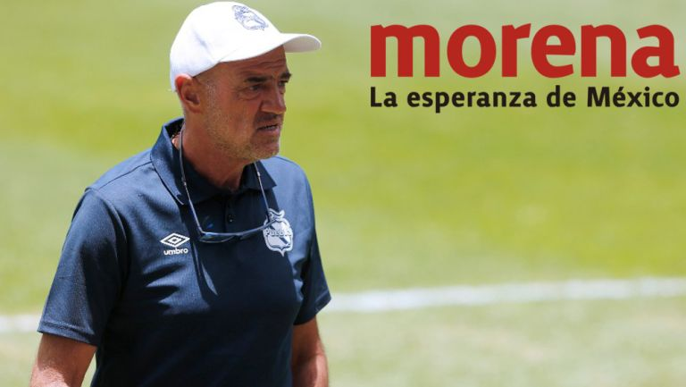 José Luis Sánchez Solá en su paso por el Puebla
