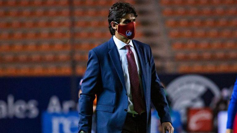 Leonel Rocco en el partido vs Xolos