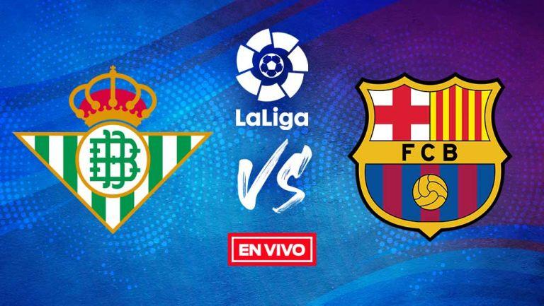 EN VIVO Y EN DIRECTO: Betis vs Barcelona Jornada 22
