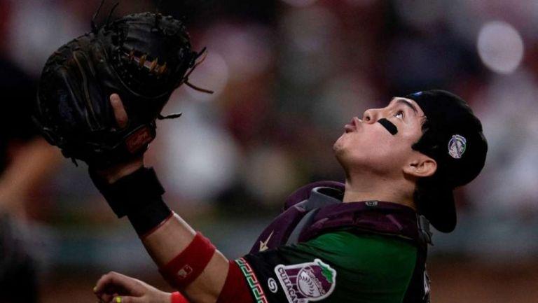 Alexis Wilson durante el juego de Semifinales de la Serie del Caribe 2021 entre México y Puerto Rico