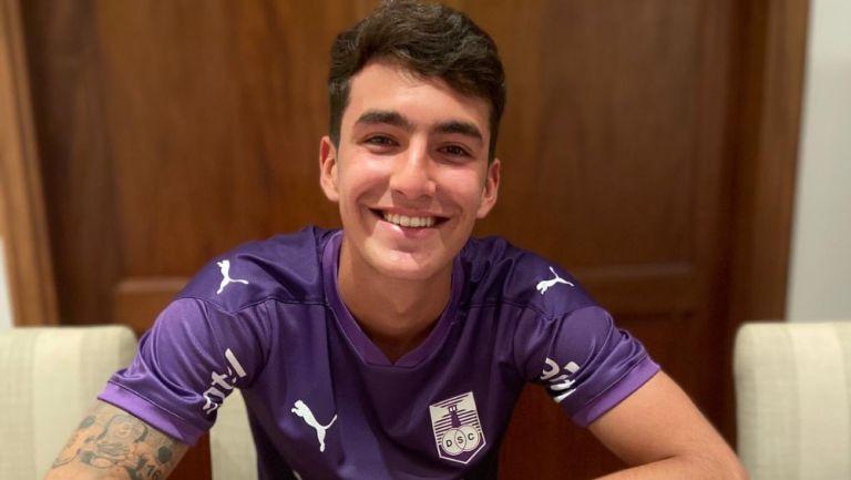 Diego Abreu: Hijo del Loco fichó con el Defensor Sporting de Uruguay