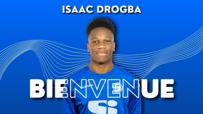 Isaac Drogba jugará en el Folgore Caratese