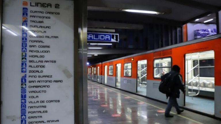 Línea 2 del Metro volvió a operar