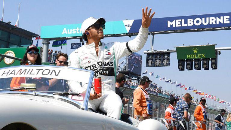 F1: Lewis Hamilton renovó un año con Mercedes
