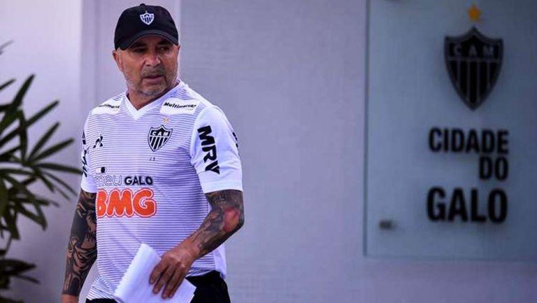 Jorge Sampaoli, en su paso con el Atlético Mineiro