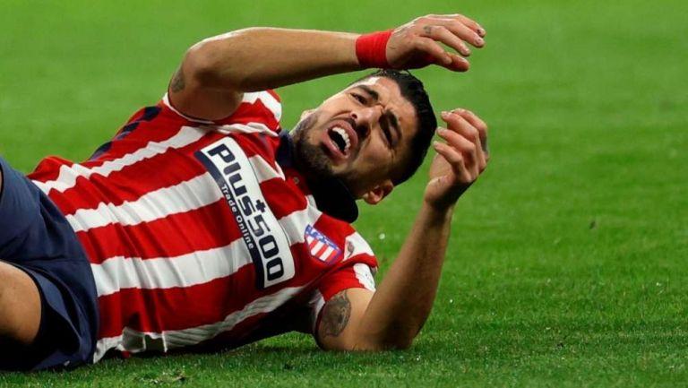 Luis Suárez en lamento con Atlético de Madrid