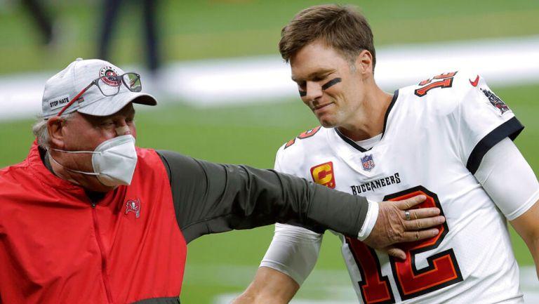 Bruce Arians confesó que su esposa conoció a Tom Brady hasta el Super Bowl