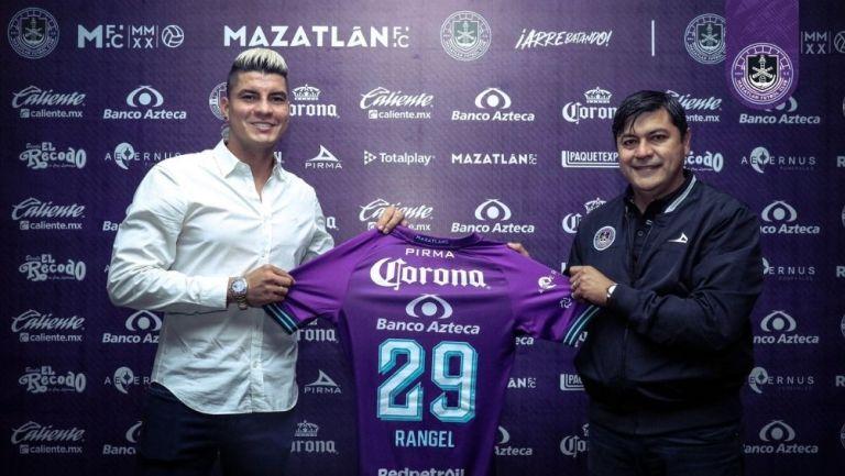 Michael Rangel fue presentado con Mazatlán FC