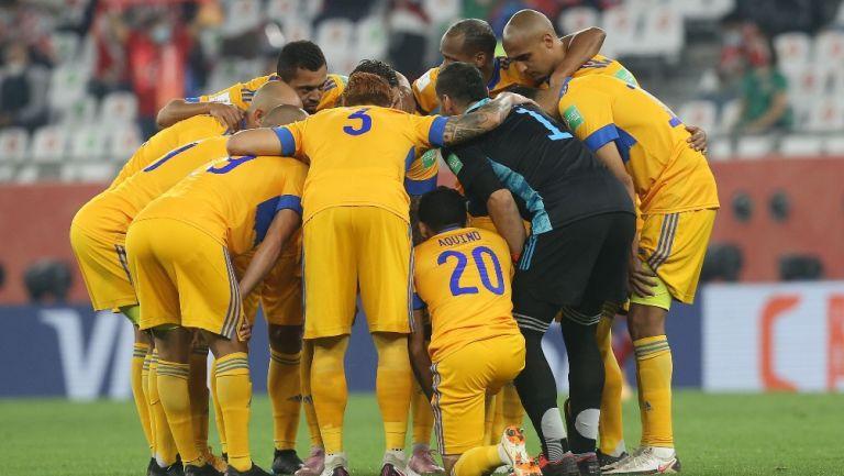 Tigres previo a jugar la Final del Mundial de Clubes